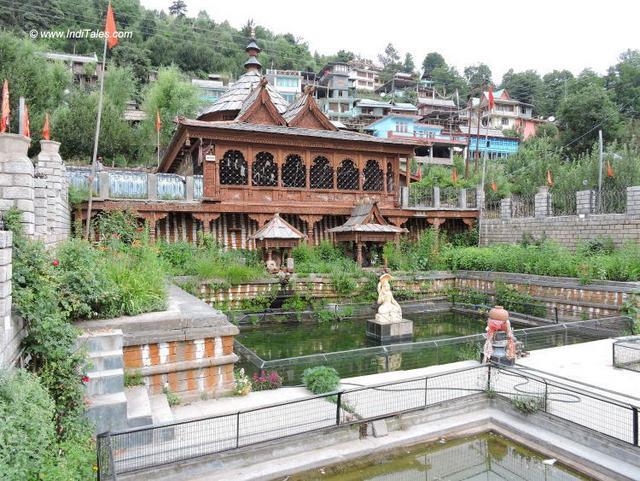 Ancient temple near Chandika Devi Temple at Roghi, Kalpa, Kinnaur, Himachal Pradesh