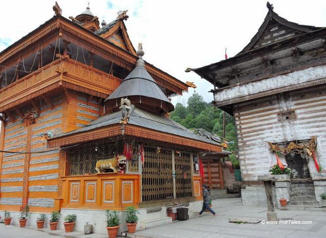 Chandika Devi Temple at Roghi, Kinnaur, Himachal Pradesh