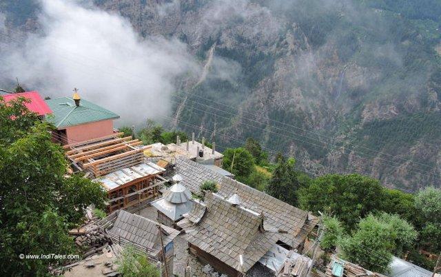 Temples at Kalpa, Roghi, Kinnaur, Himachal Pradesh