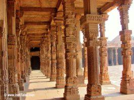 Delhi Qutub Minar Corridors
