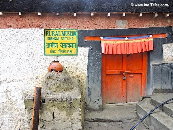 Rural Museum, Dhankar Monastery, Spiti Valley, Himachal Pradesh