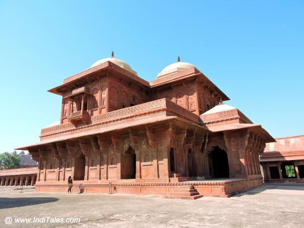 Birbal's palace at Fatehpur Sikri Agra