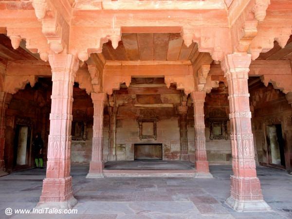 Temple at Jodhabai's palace, Fatehpur Sikri, Agra
