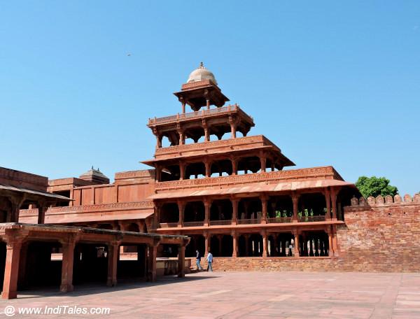 Panch Mahal at Fatehpur Sikri Agra