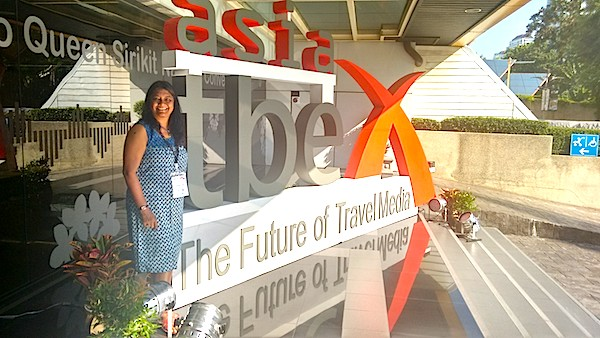 Anuradha Goyal At TBEX Bangkok