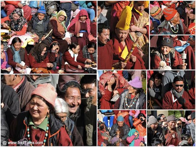 Faces of Ladakh at Spituk Monastery
