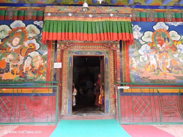 Entrance to Lamayuru Monastery in Ladakh