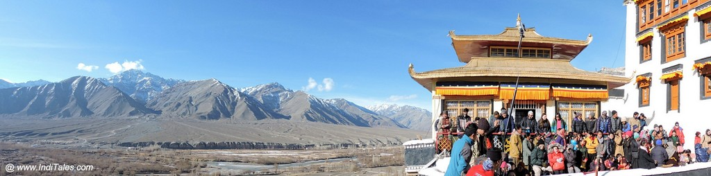 Spituk Monastery and Leh