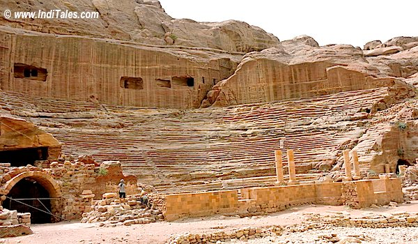 Roman Theatre at Petra Jordan