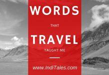 Travel words IndiTales