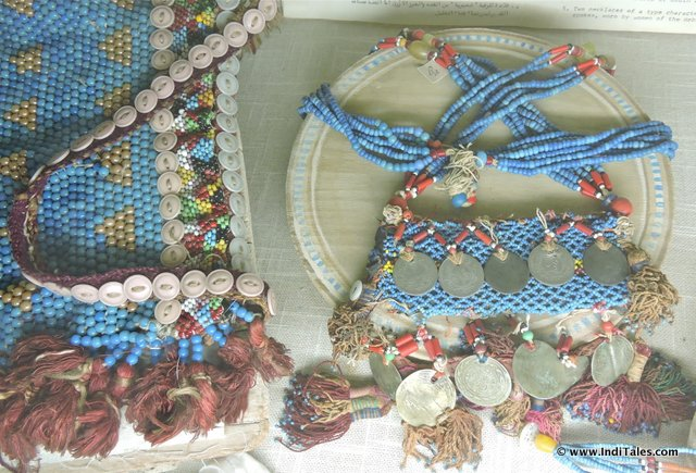 Coin & Bead Jewelry at Jordan Museum of Popular Traditions, Amman
