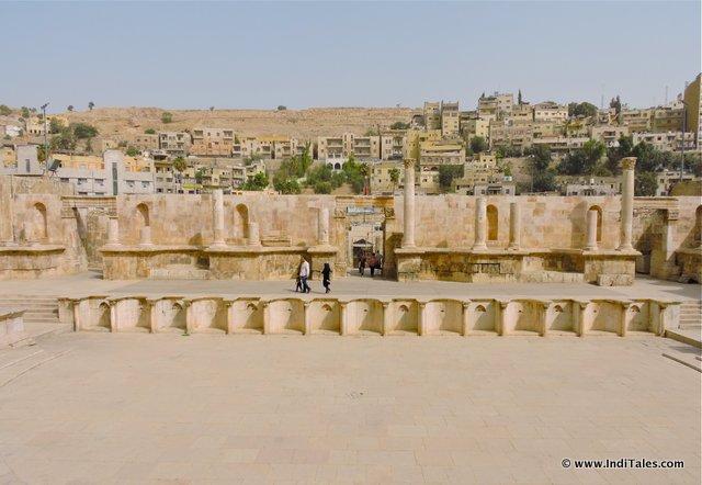 Stage of Amman Roman Theater Jordan