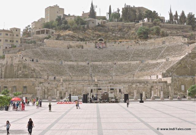 Amman Roman Theater, Jordan