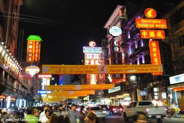 China Town, Bangkok Night Market