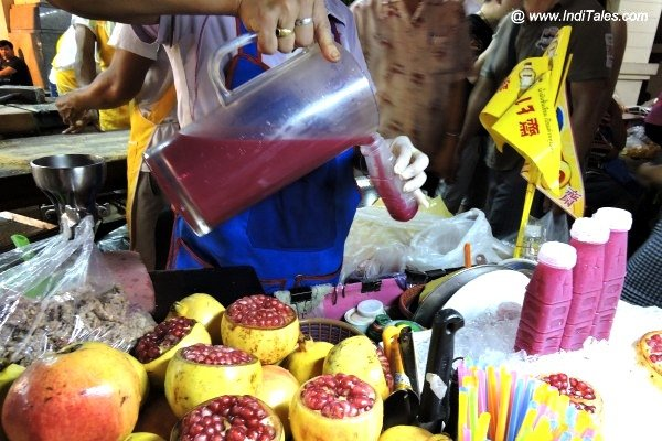 Bangkok Nightlife China Town Juice Counter
