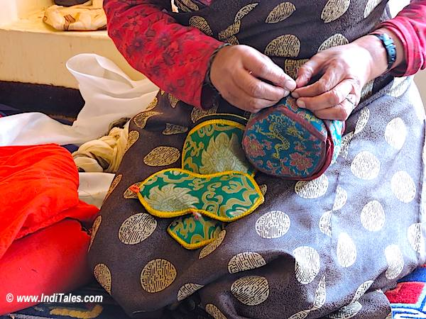 Padma Lamo - Buddhist Oracle - Ladakh
