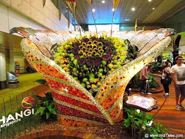 Enchanted Garden at Changi Airport Terminal 2
