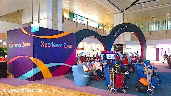 Experience zone at T2 Changi Airport