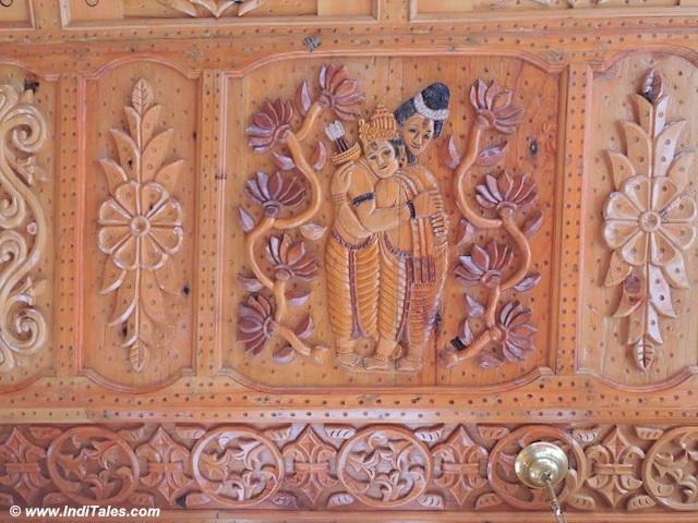 Bharat Milap panel at Hatu Mata Temple, Narkanda, Shimla India