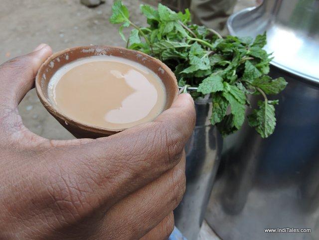 Mint Tea or Pudina Chai