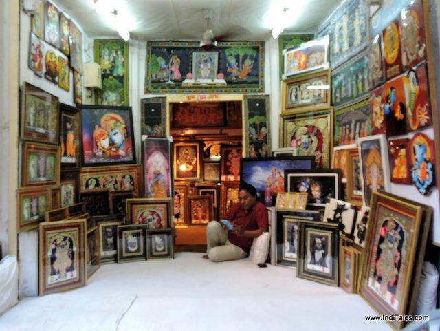 An art shop at Nathdwara