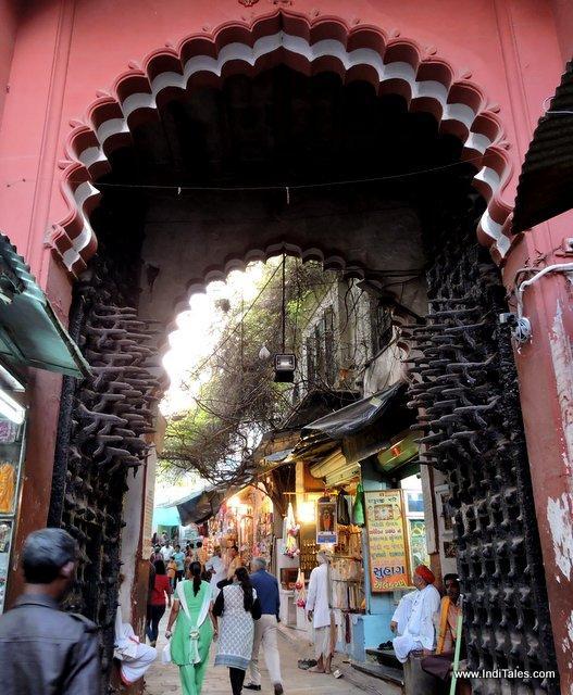 Entrance gate, Nathdwara Temple, Rajasthan