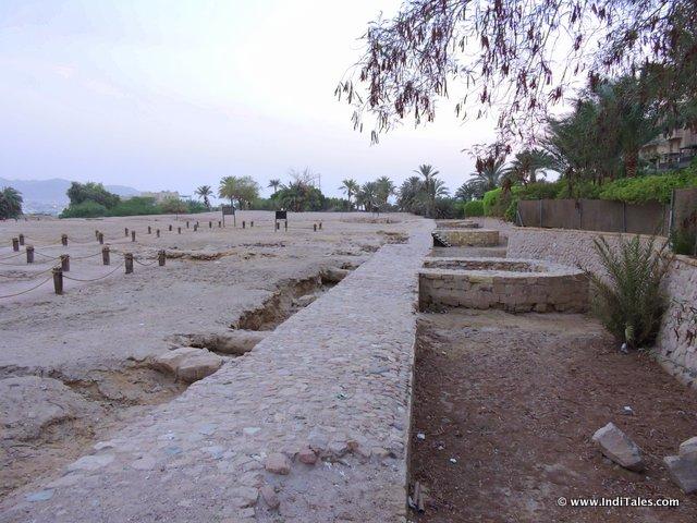 Ruins of Ayla at Aqaba, Jordan