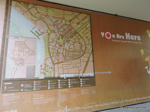 Aqaba City Map