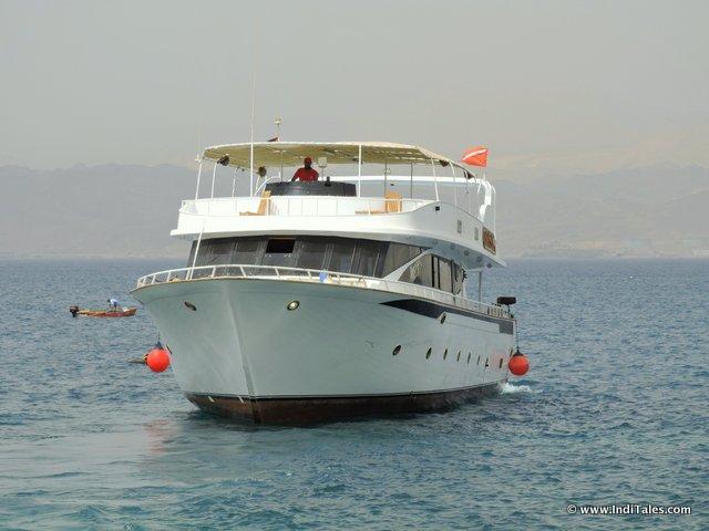 Red sea cruise, Aqaba Jordan