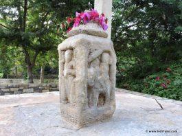 Closer look at Chetak Samadhi