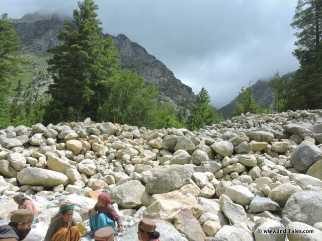City of Stones on way to Chitkul, Sangla Valley, Himachal Pradesh