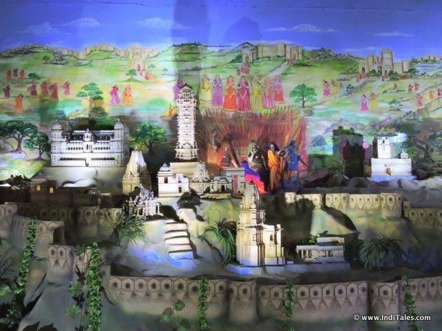 Chittorgarh as part of story of Maharana Pratap