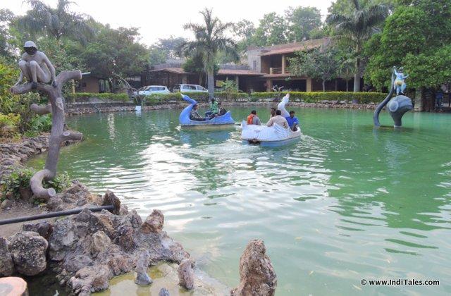 Lake at Maharana Pratap Memorial, Haldighati