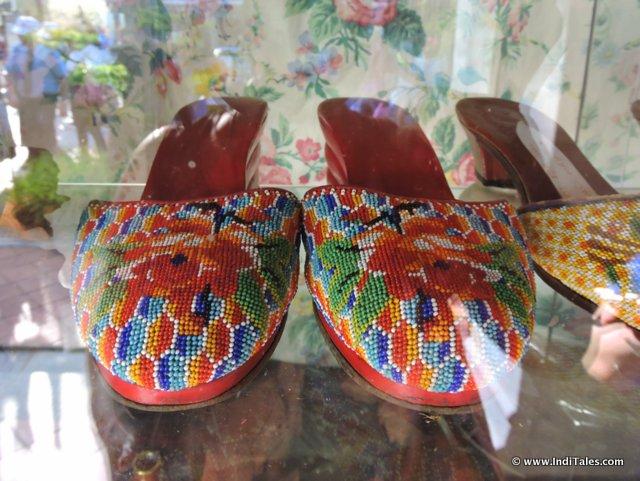 Beaded Footwear - Peranakan Style