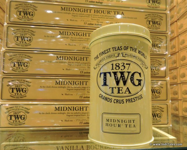 TWG Tea Products as Singapore Souvenirs