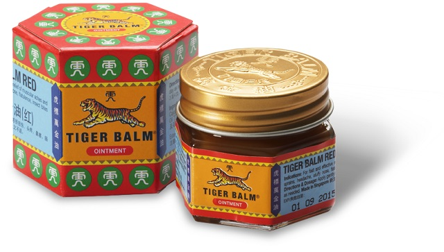 Tiger Balm as Singapore Souvenir