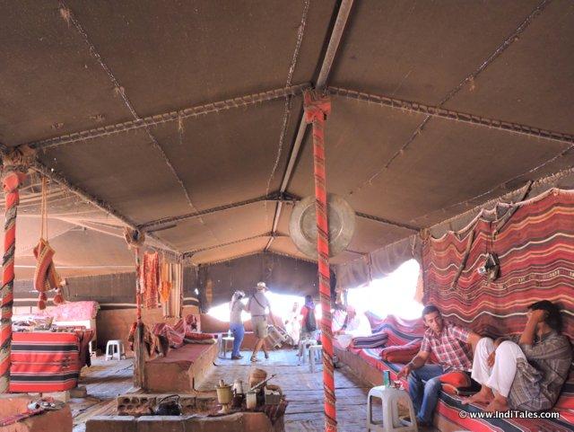 Bedouin Tent at Wadi Rum, Jordan