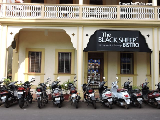 Black Sheep Bistro, Panaji, Goa Restaurants