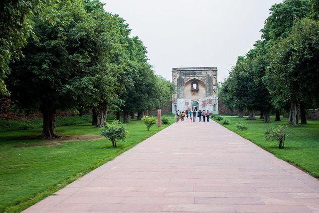 Bu Halima Gate, Humayun Tomb