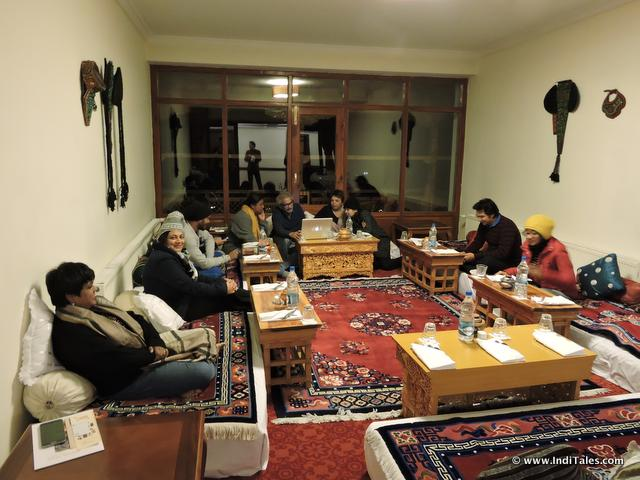 Traditional Dining at The Grand Dragon Hotel, Ladakh