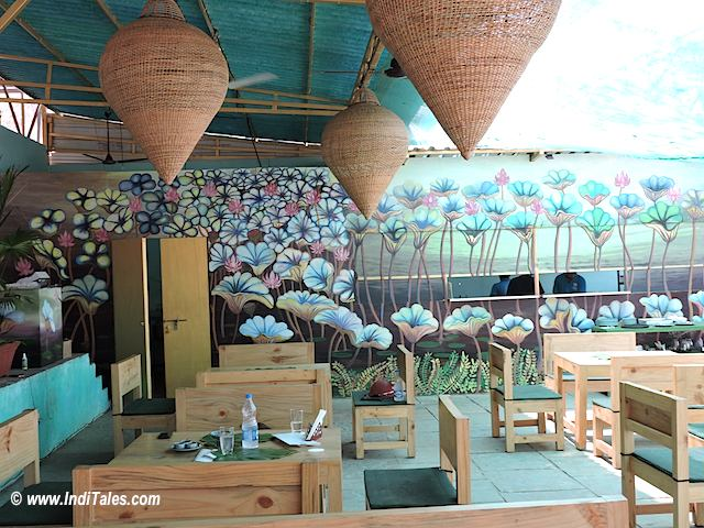Goa Restaurants - Lotus Blossom, Anjuna, Goa