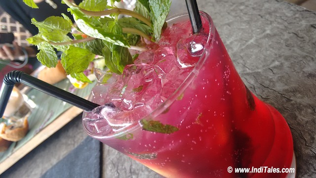 Kokum Drink at Nero Barcode Porvorim Goa Restaurants