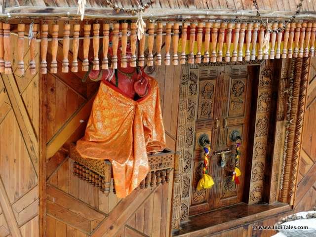 Details of Bairing Nag Temple - Sangla , Himachal Pradesh