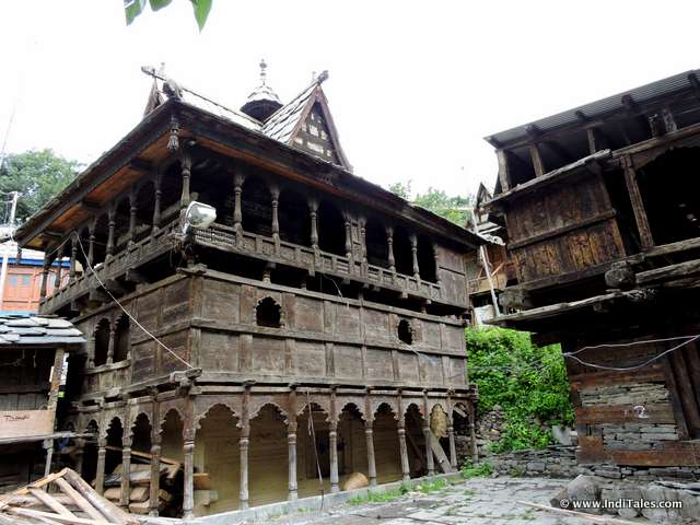 Abandoned house at Sangla, Himachal Pradesh