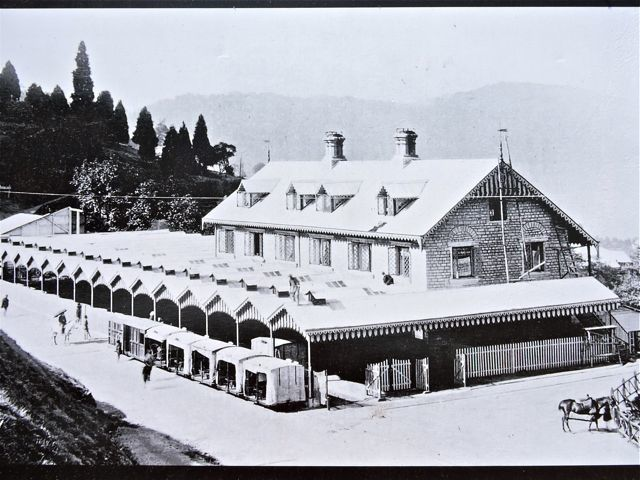 Darjeeling Station Vintage Photo