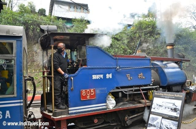 Iron Sherpa - The steam engine of Darjeeling Himalayan Drink