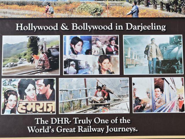 Bollywood films shot on Darjeeling Himalayan Railway