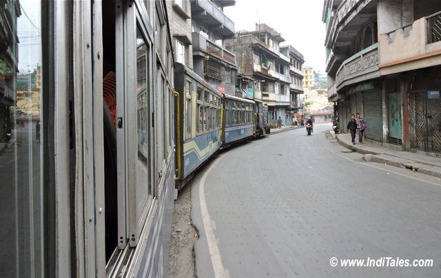 On Board Darjeeling Toy Train