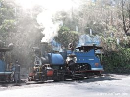 Steam Engine of Darjeeling Himalayan Railway