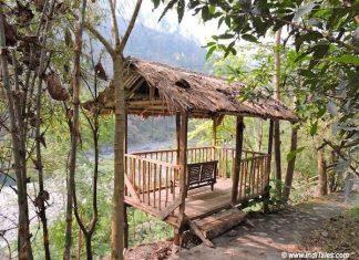 Outdoor Bamboo Gazebo